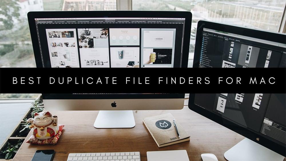 Best Duplicate Finders For Mac