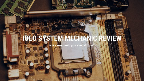Review of Iolo System Mechanic Pro