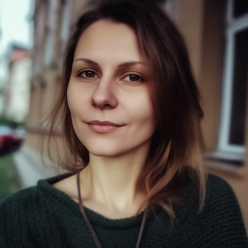 Author Katya Seryabkina