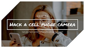 How To Hack Someone's Phone Camera Remotely