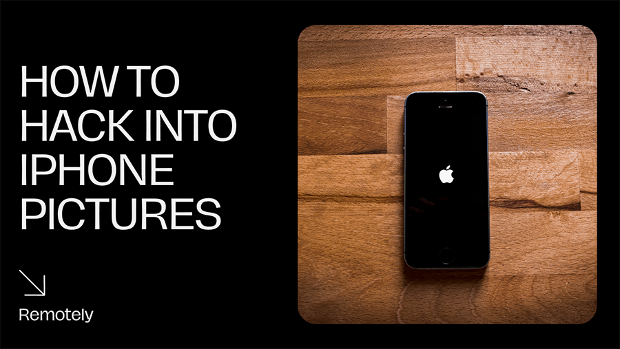 illustration of how to hack iphone photos