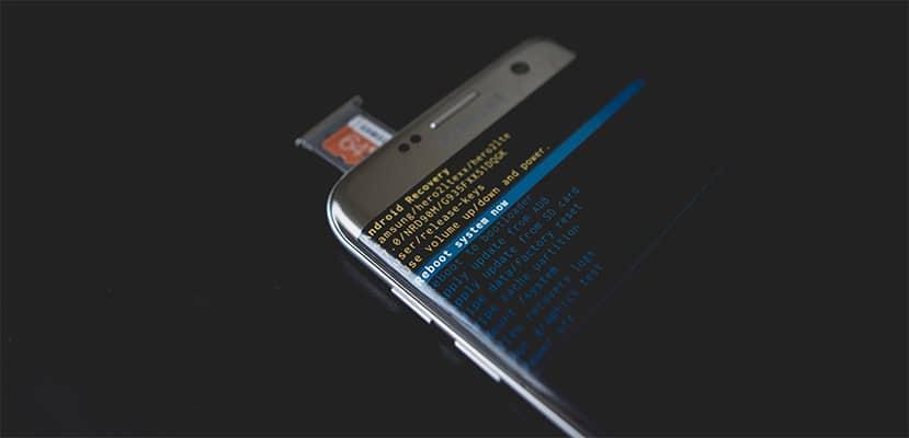 screenshot of jailbreaking an iPhone