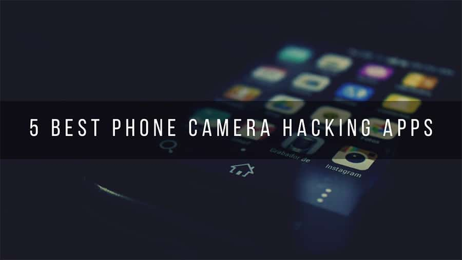 a hacked android phone camera