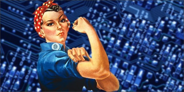 first women in tech