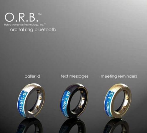 orb bluetooth ring jewelry