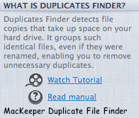 magican mac app for macs showing duplicates description