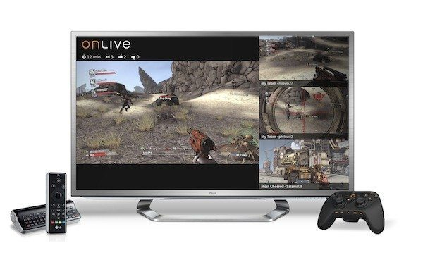 Onlive Google Games LG Streaming