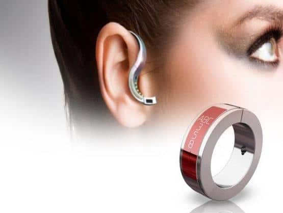 O.R.B. Bluetooth Headset Ring