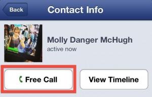 Facebook Free Callling