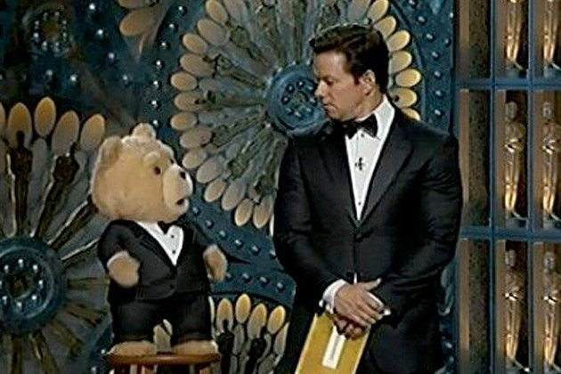 Ted at the Oscars