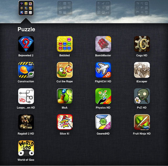 online games for a ipad
