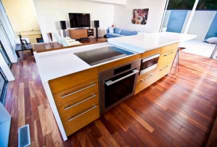 high tech kitchen