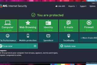 AVG Internet Security - Review & Rating | The High Tech Society