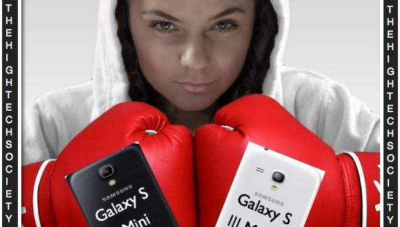 Mini Smartphone Samsung Galaxy Battle