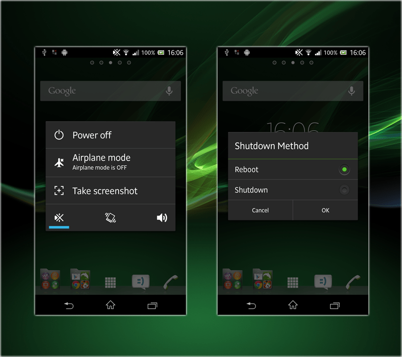 To take a screenshot with a Sony Experia, simply hit the power button