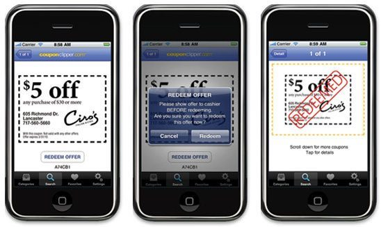 Best mobile coupon apps iphone