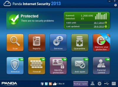 Panda Internet Security 2013 review
