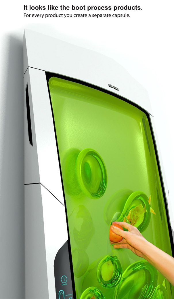 The bio robot refrigerator an appliance for the future for Bio robot fridge cost