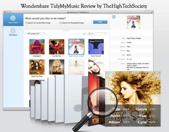feature tidymymusic review