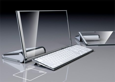 ... it uses a bamboo mesh structure for the casing, cutting down production  costs by 65%, and making the computer a lot more eco friendly. Would you  buy it?