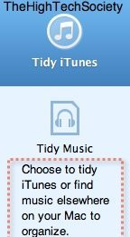 tidymymusic what you can tidy