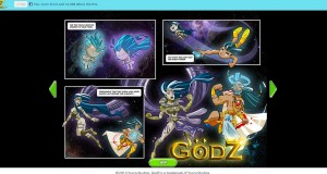 godz comic strip