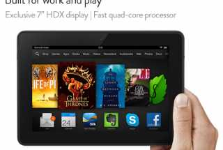 Amazon Announces the New Kindle Fire HDX