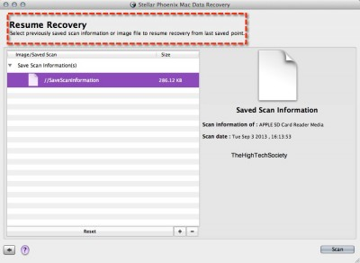 stellar mac data recovery resume