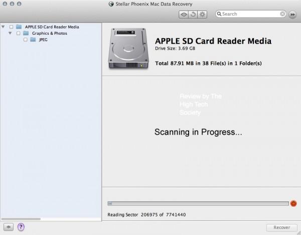 stellar mac data recovery scanning