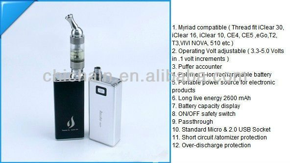 Step Up Your Vape With the iTaste MVP 2 Battery - The High