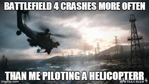 crashing battlefield 4