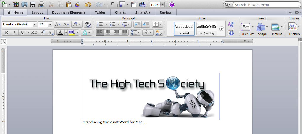 how to draw on microsoft word mac
