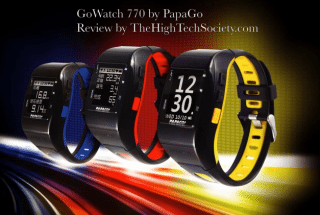 PapaGo GPS Sports GoWatch770 Review