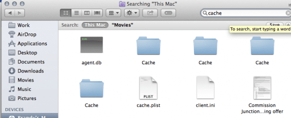 how to go to a folder in mac finder