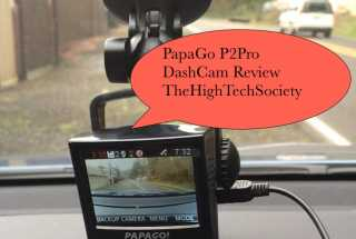 PapaGo DashCam P2Pro Review