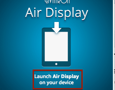 Launch Air Display