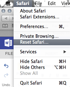 how to clear your history on safari