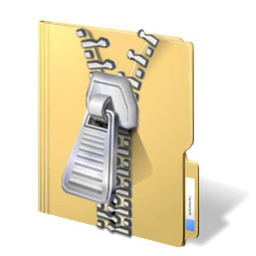 How to zip a file in windows or mac the high tech society for Window zip file