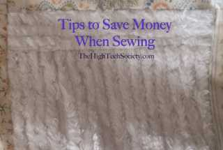 Tips to Save Money When Sewing