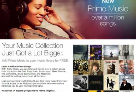 amazon prime membership music