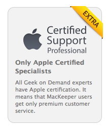 certified support apple