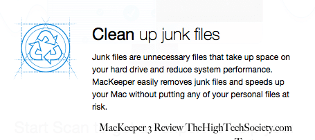 clean up junk files scan