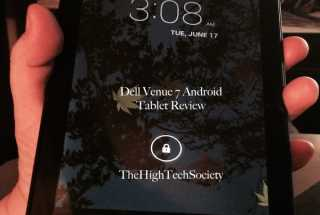 A Review of the Dell Venue 7 Tablet Powered by Intel