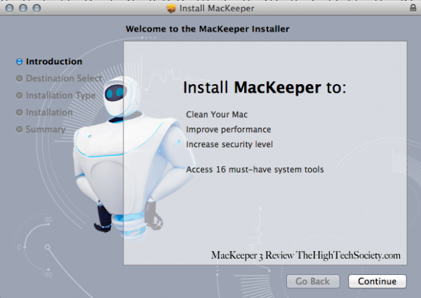 install mackeeper
