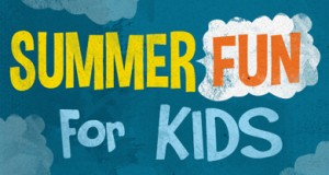 kids fun in the summer
