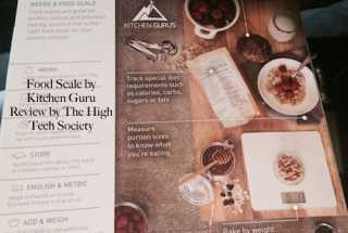 Digital Food Scale from Kitchen Gurus is Stylish and Accurate