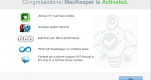 mackeeper is activated