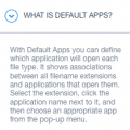 what is default apps