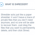 what is shredder