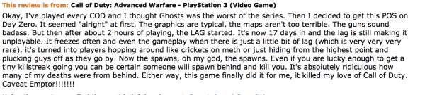 common review of the game